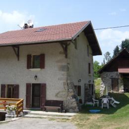 Chambre d'hôtes du Couvat (Isère - Saint Jean le Vieux - Belledonne) - Chambre d'hôtes - Saint-Jean-le-Vieux