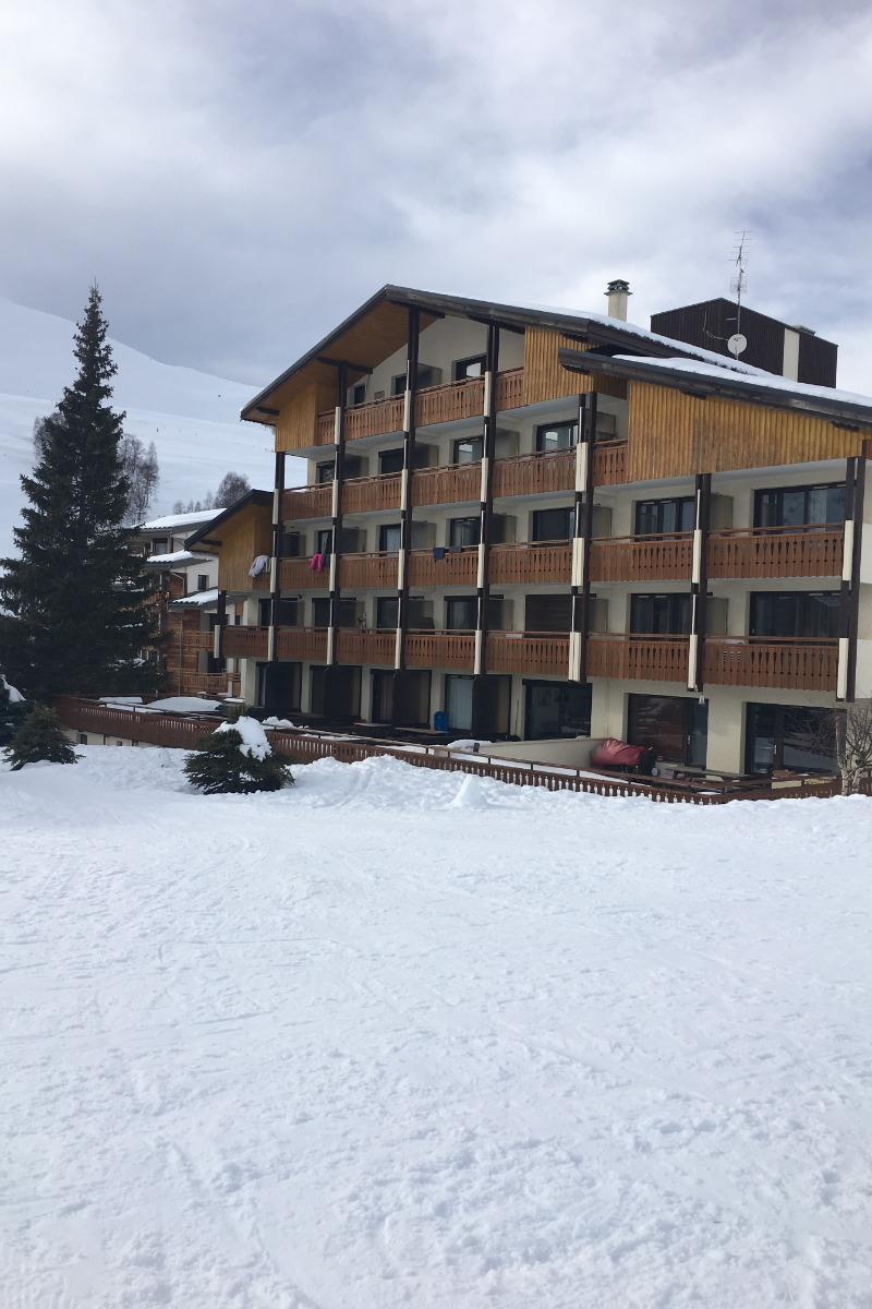 Vue du balcon l'été - Location de vacances - les Deux Alpes