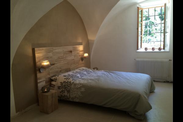 La chambre double - Location de vacances - Saint-Baudille-et-Pipet