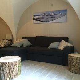 Le séjour - Location de vacances - Saint-Baudille-et-Pipet