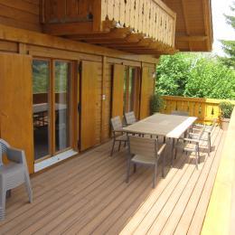 chalet avec vue sur le lac  pour 7 personnes (Paladru - Isère) - Location de vacances - Paladru
