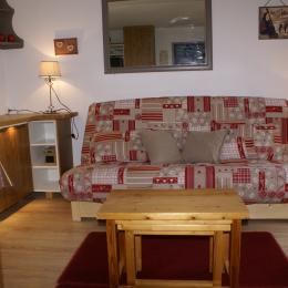salle à vivre le soir - Location de vacances - les Deux Alpes