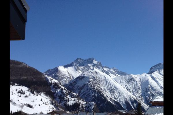 Vue sur la Muzelle depuis le balcon - Location de vacances - les Deux Alpes