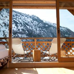 Location de vacances chalet a Vaujany Alpe d'Huez (Isère) Vue sur les montagnes - Location de vacances - Vaujany