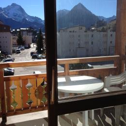 Appartement rénové aux pieds des pistes aux Deux Alpes (Isère) - BALCON  - Location de vacances - les Deux Alpes