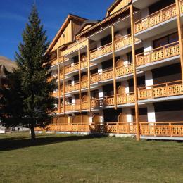 VUE EXTERIEUR DE L'IMMEUBLE - Location de vacances - les Deux Alpes