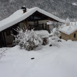 En novembre 2012, la neige est là ! Chalet dans petit village en isère - Location de vacances - Pinsot