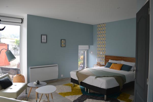 Chambres d'hôtes qui allient authenticité, charme, élégance et modernité proche Lyon et Grenoble - Chambre d'hôtes - Mottier