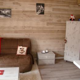 Appartement aux Deux Alpes - le salon - Location de vacances - les Deux Alpes