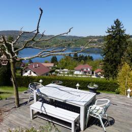 terrasse - Location de vacances - Bilieu