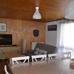 vue salon - Location de vacances - Deux-Alpes