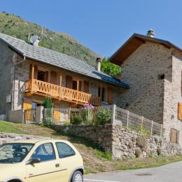Gite avec vue imprenable proximité stations de ski de l'Oisans (Isère) - Location de vacances - Le Freney-d'Oisans