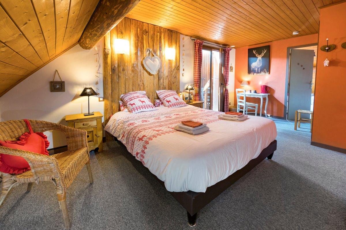 Gîte le Montbrand (Autrans, 15 pers) - chambre 5 pièce1 - Location de vacances - Autrans - Méaudre en Vercors