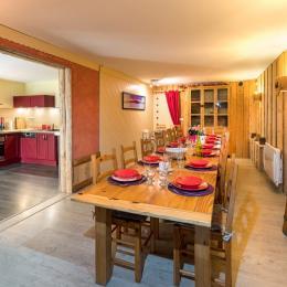 Gîte le Montbrand (Autrans, 15 pers) - chambre 1 - Location de vacances - Autrans