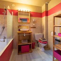 Gîte le Montbrand (Autrans, 15 pers) - chambre 3 - Location de vacances - Autrans