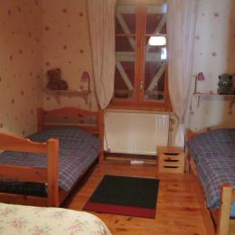Chambre 2 - Location de vacances - Gresse-en-Vercors