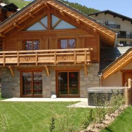 Chalet Faverot 2 : chalet  de 180 m² pour 10 personnes aux Deux Alpes (station de ski) - Location de vacances - les Deux Alpes