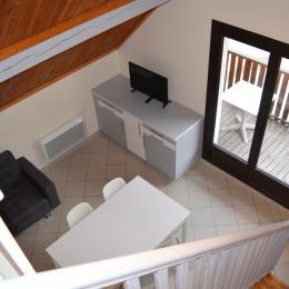 vue des escaliers - Location de vacances - Plateau-des-Petites-Roches