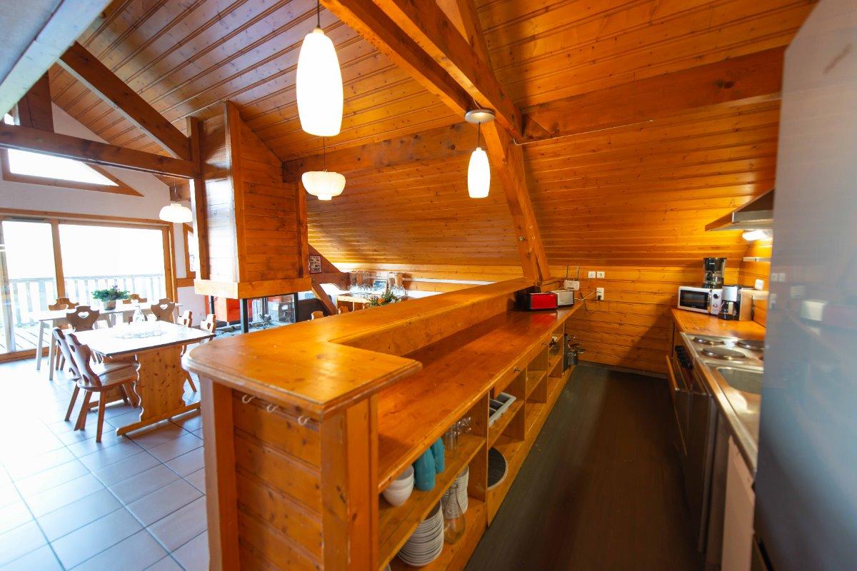 Jacuzzi et Sauna du chalet (privatifs) - Location de vacances - Oz