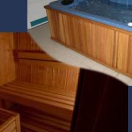 Sauna et Hammam (privatifs) Pas de Jacuzzi - Location de vacances - Oz