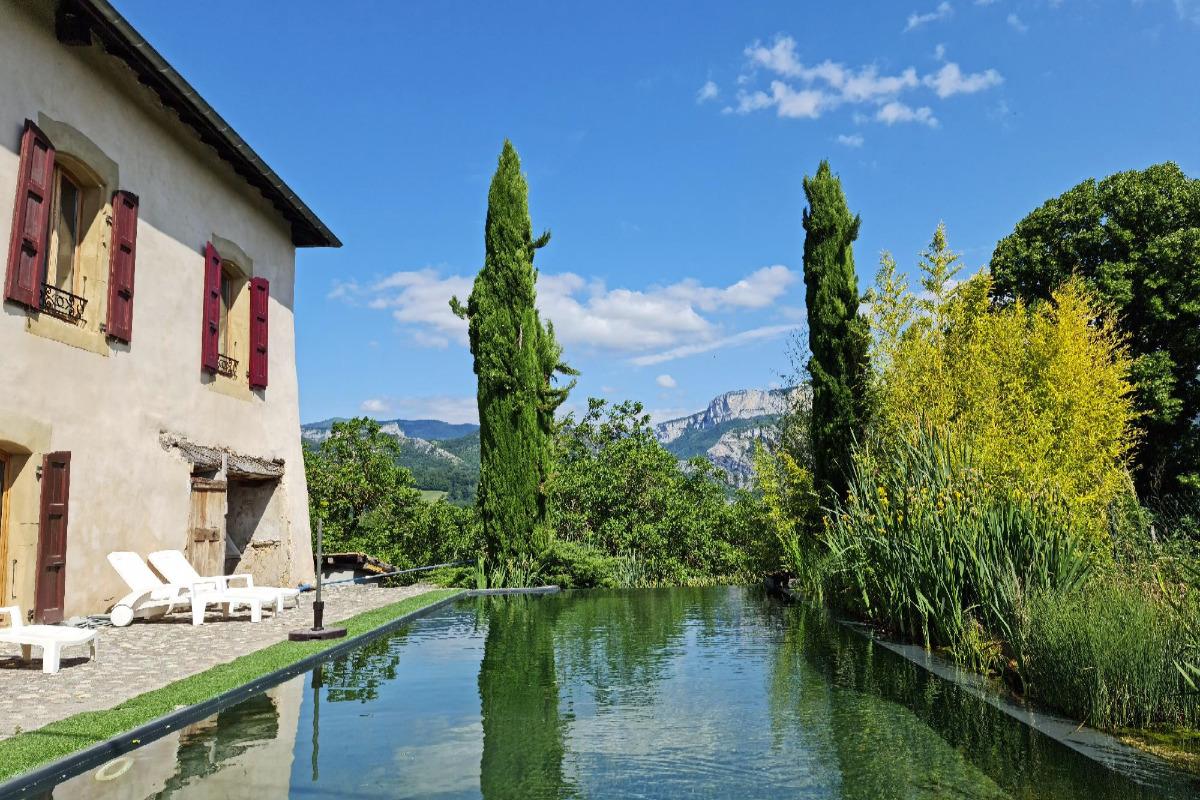 La vue de la Grand Maison - Location de vacances - Auberives-en-Royans
