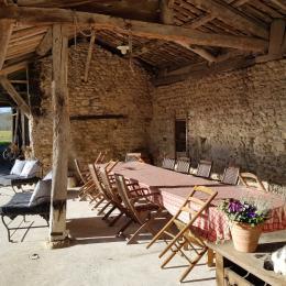 Entrée salle à manger - Location de vacances - Auberives-en-Royans