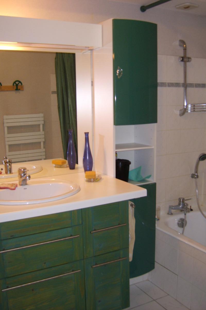 Salle de bains avec Lave Linge - Chambre d'hôtes - Grenoble
