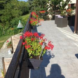 Terrasse chambre d'hôte Meyrié - Chambre d'hôtes - Meyrié