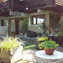 terrasse au printemps - Location de vacances - Villard-de-Lans