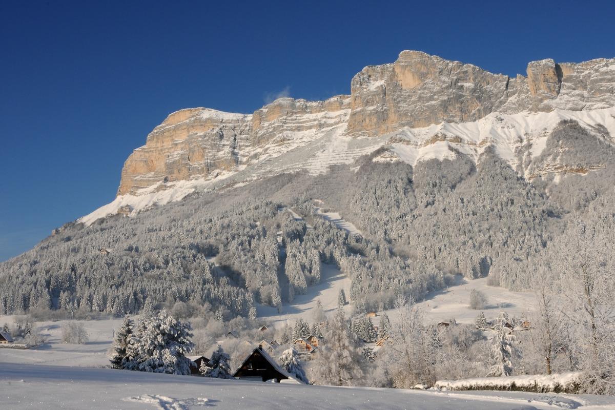 La station de ski du Gite Le Nid de St Hil à Saint Hilaire du touvet, Isère en Chartreuse - Location de vacances - Plateau-des-Petites-Roches