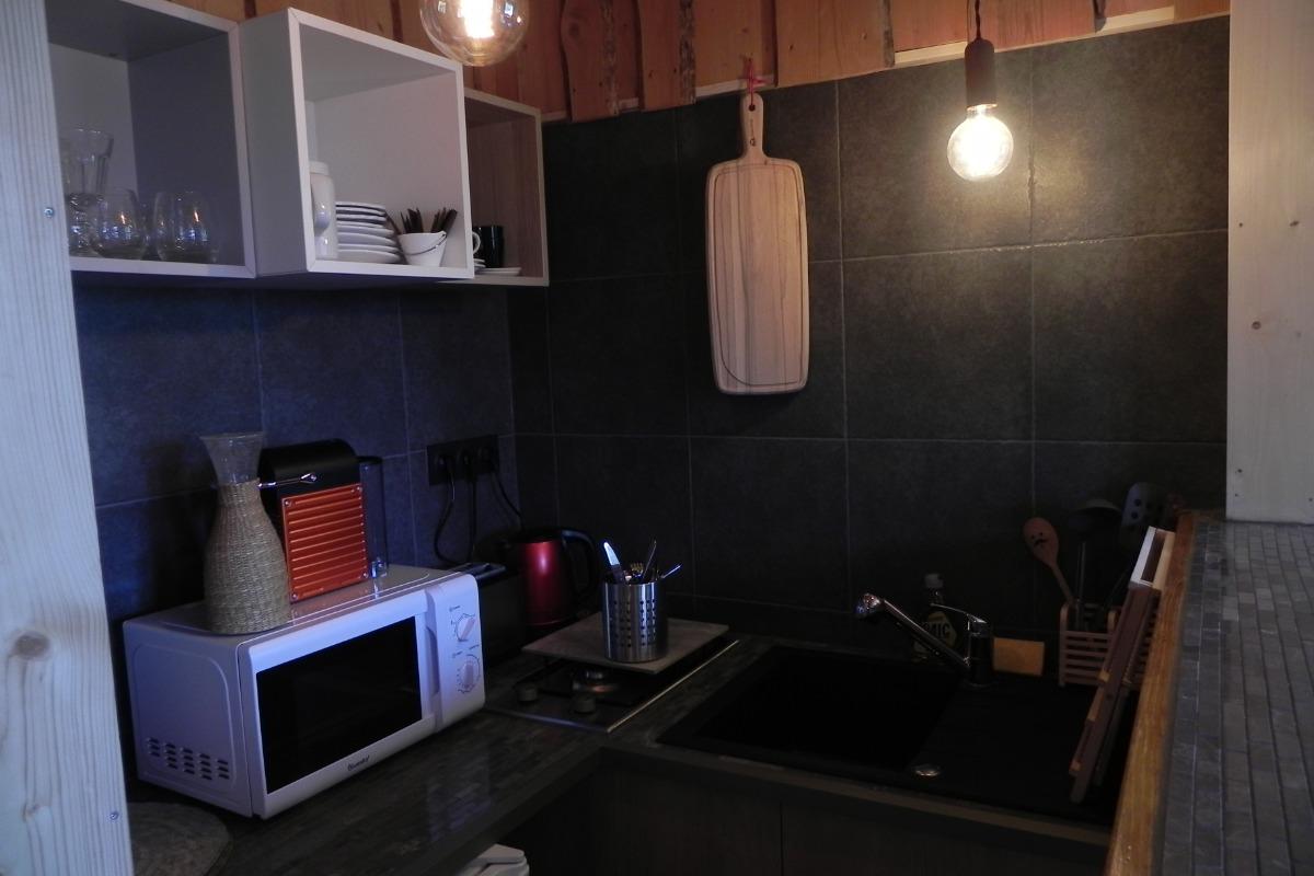 Petite cuisine - Chambre d'hôtes - Le Sappey-en-Chartreuse