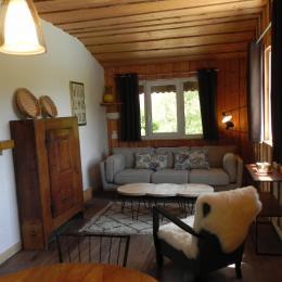 Séjour lumineux - Chambre d'hôtes - Le Sappey-en-Chartreuse