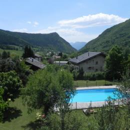 Vue séjour - Chambre d'hôtes - Le Sappey-en-Chartreuse