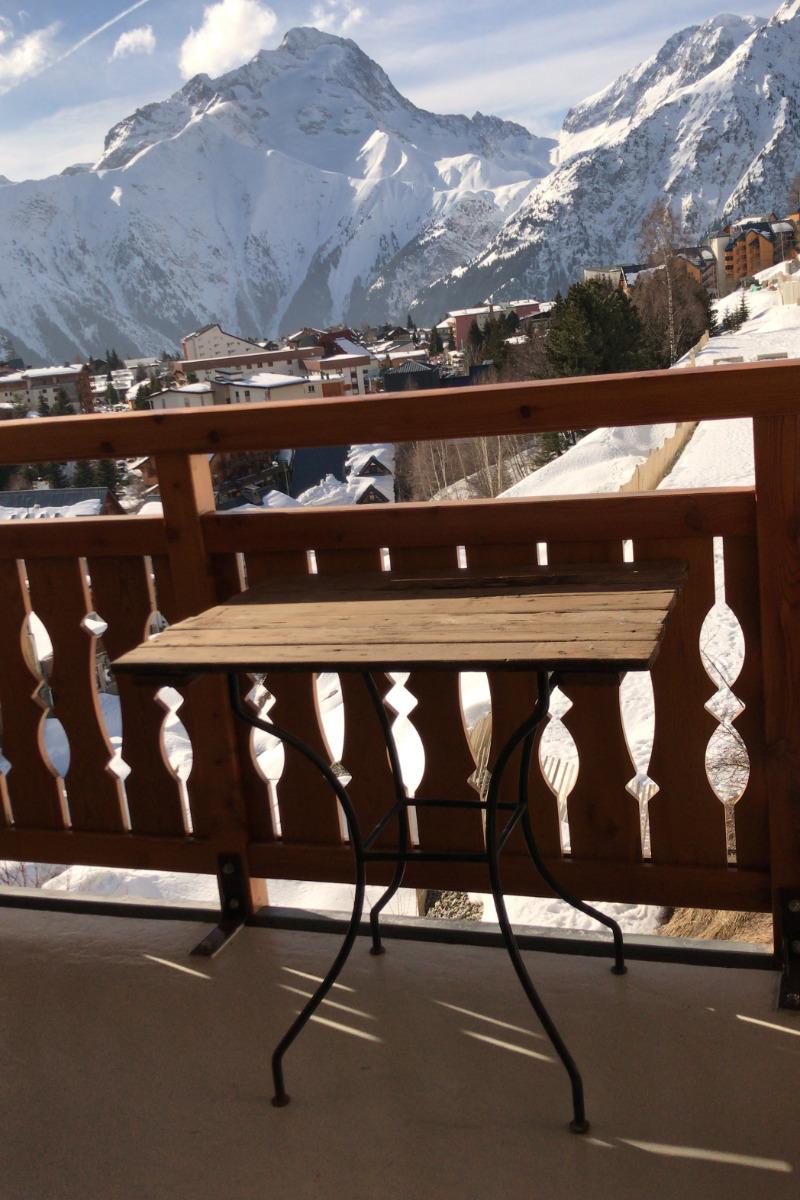 balcon plein sud - Location de vacances - les Deux Alpes