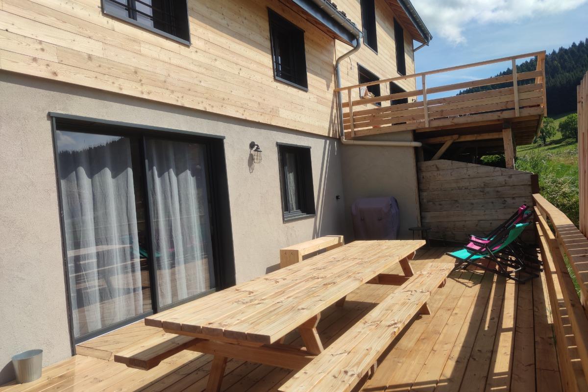 Vercors Autrans - Terrasse bois de 40m² - Location de vacances - Autrans