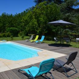 La piscine - Location de vacances - Saint-Lattier