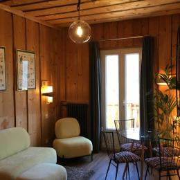 Séjour avec balcon/sud - Chambre d'hôtes - Le Sappey-en-Chartreuse