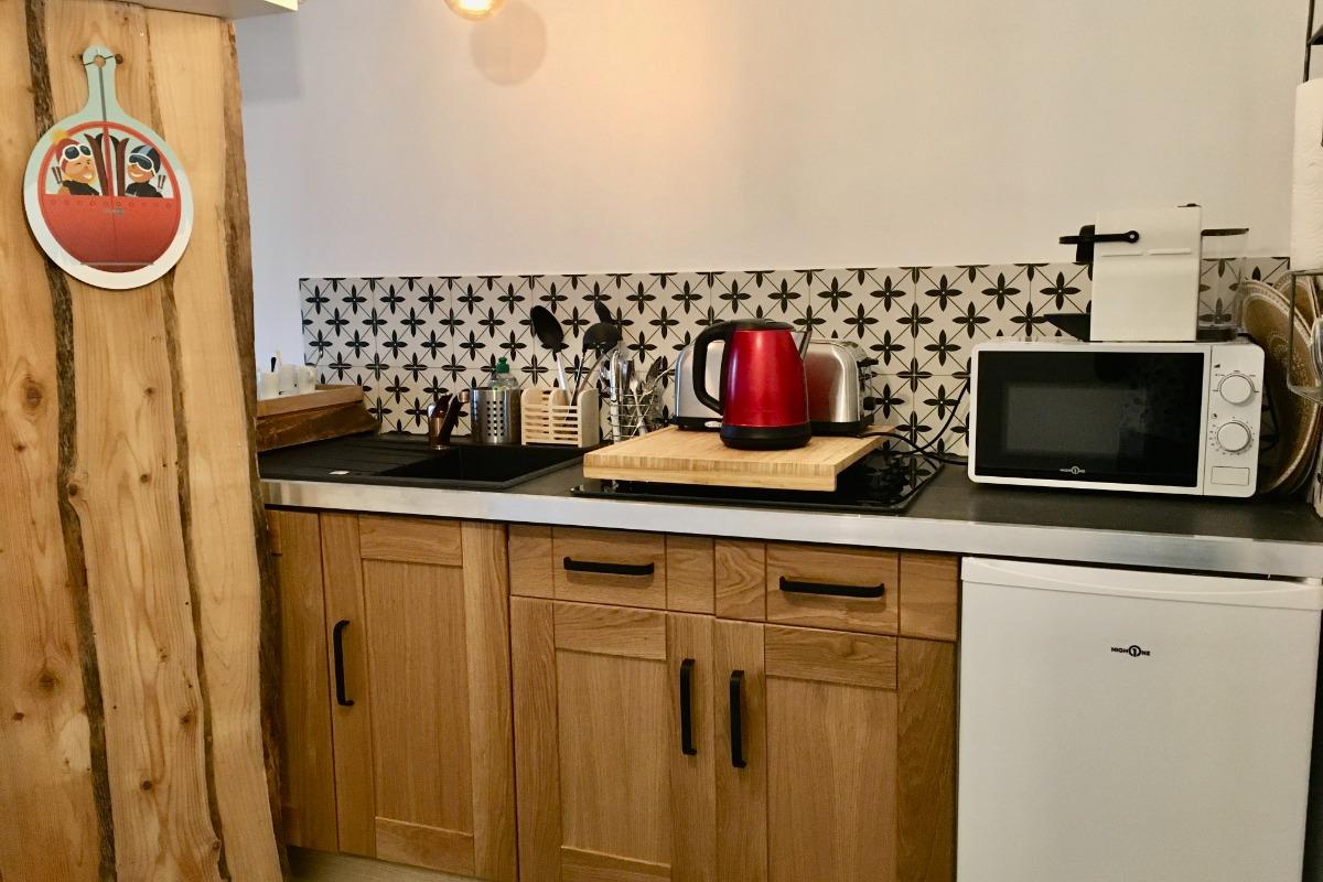 Cuisine - Chambre d'hôtes - Le Sappey-en-Chartreuse