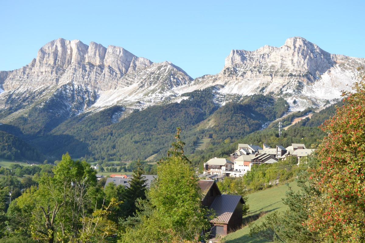Les dolomites D2 -N° 10 : Appartement vacances duplex à Gresse en Vercors pour 4 personnes au coeur de la station de ski - Location de vacances - Gresse-en-Vercors