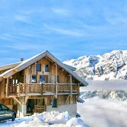 Le chalet Face au massif de Belledonne au départ des pistes - Location de vacances - Villard-Reculas