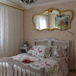 Chambre n° 1 - Location de vacances - Pierre-Châtel