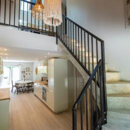 Entrée et escalier - Location de vacances - Autrans - Méaudre en Vercors
