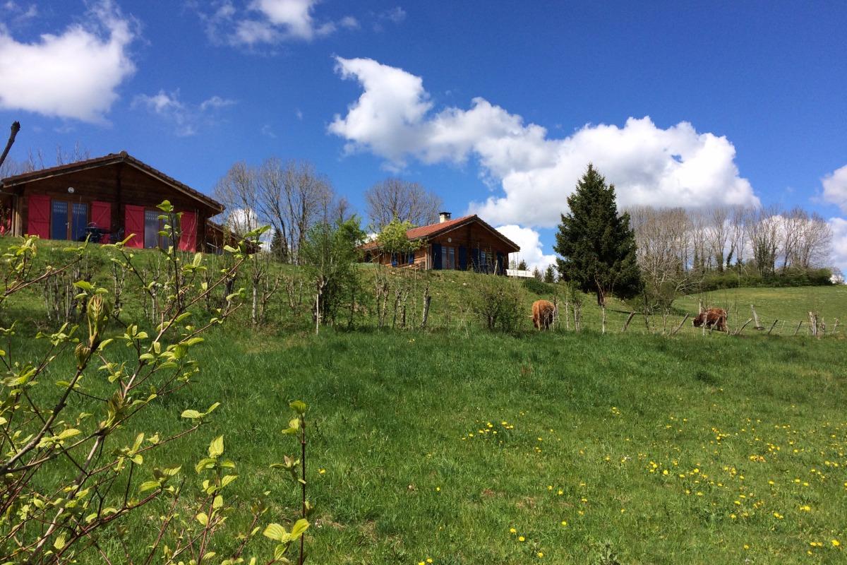 Chalet 2 chambres hiver - Location de vacances - Lent