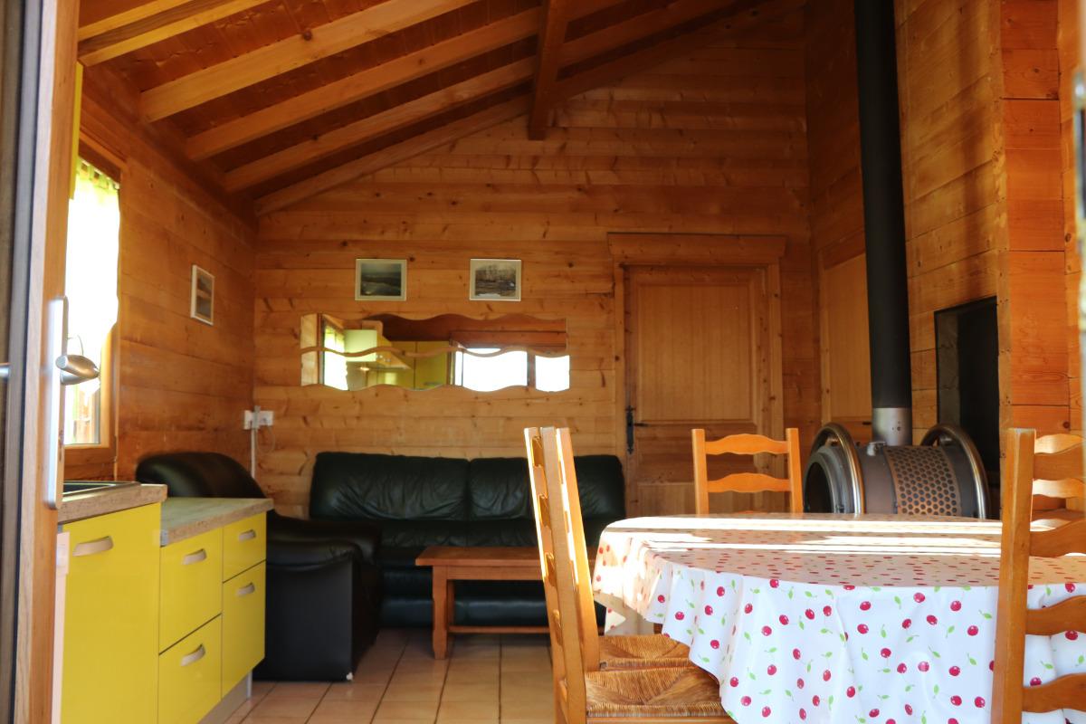 Chalet 3 chambres - Location de vacances - Lent