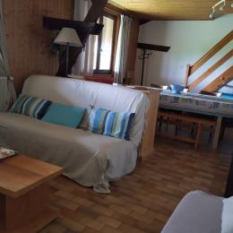 Chambre des parents - Location de vacances - Les Rousses