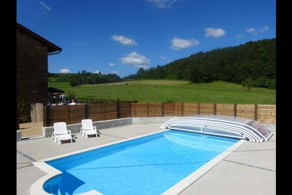 Jura ferme r nov e avec piscine priv e et chauff e petite - Location vacances avec piscine privee ...