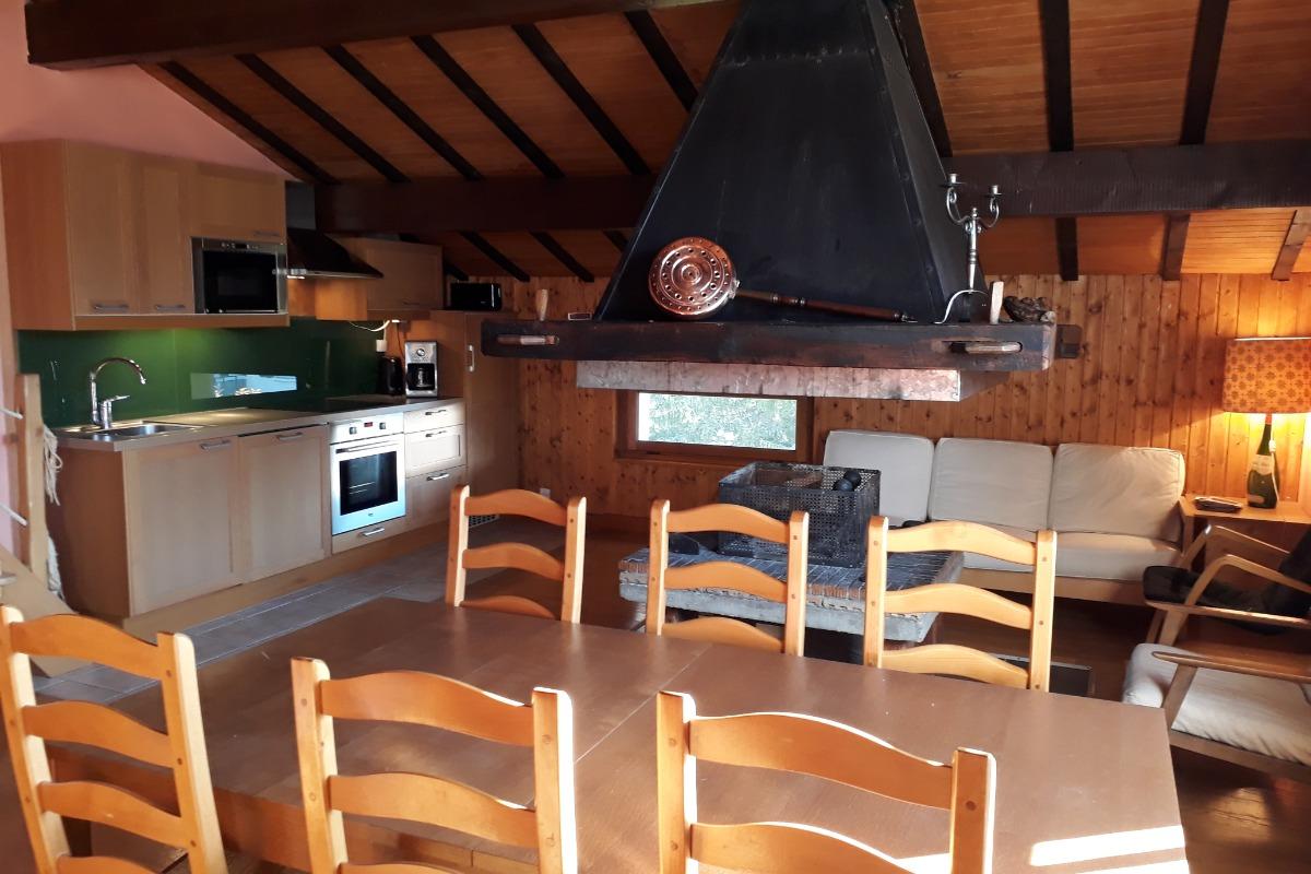 La cuisine neuve toute équipée - Location de vacances - Les Rousses
