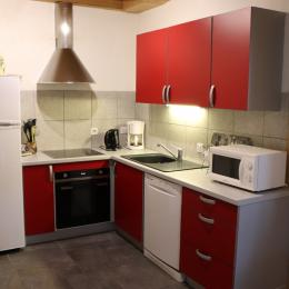 Logement aux Rousses - chambre 1 - lit double - Location de vacances - Les Rousses
