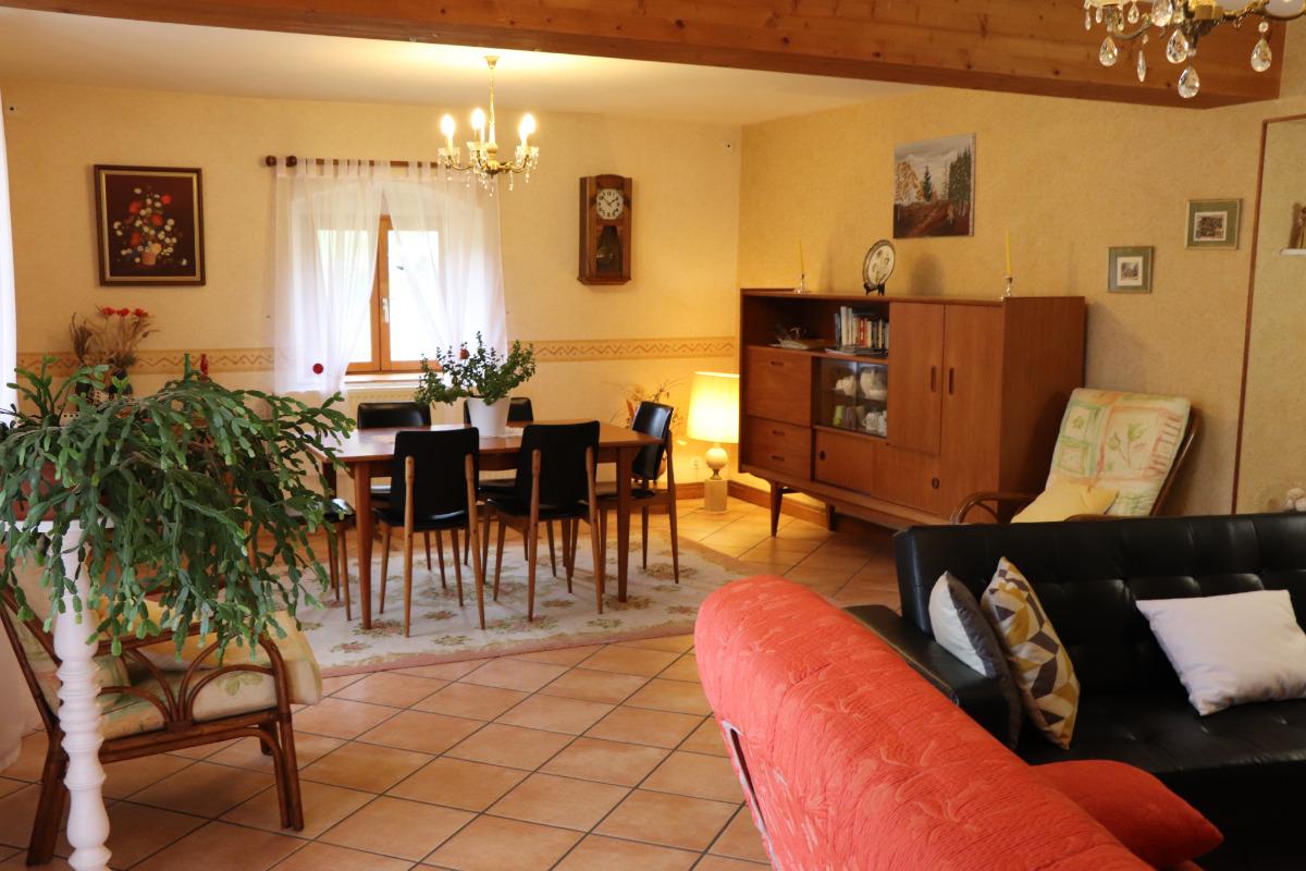 pièce à vivre de 36 m2 - Location de vacances - Morbier