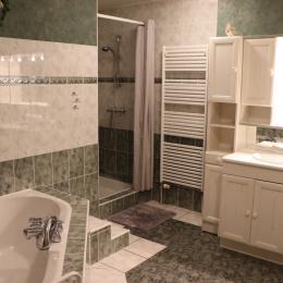 chambre lit 2 places - Location de vacances - Morbier